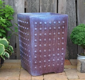 Glazed studded square